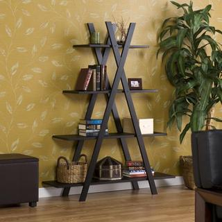 Bridle Black 'X' Etagere