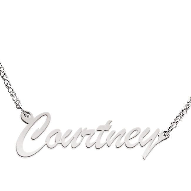 Limoges Sterling Silver 'Courtney' Necklace