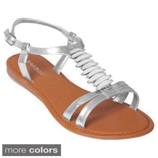 Journee Collection Women's 'Ashley-04' T-strap Sandals
