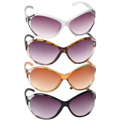 Adi Design Women's Oversized Sunglasses with Gradient Lenses