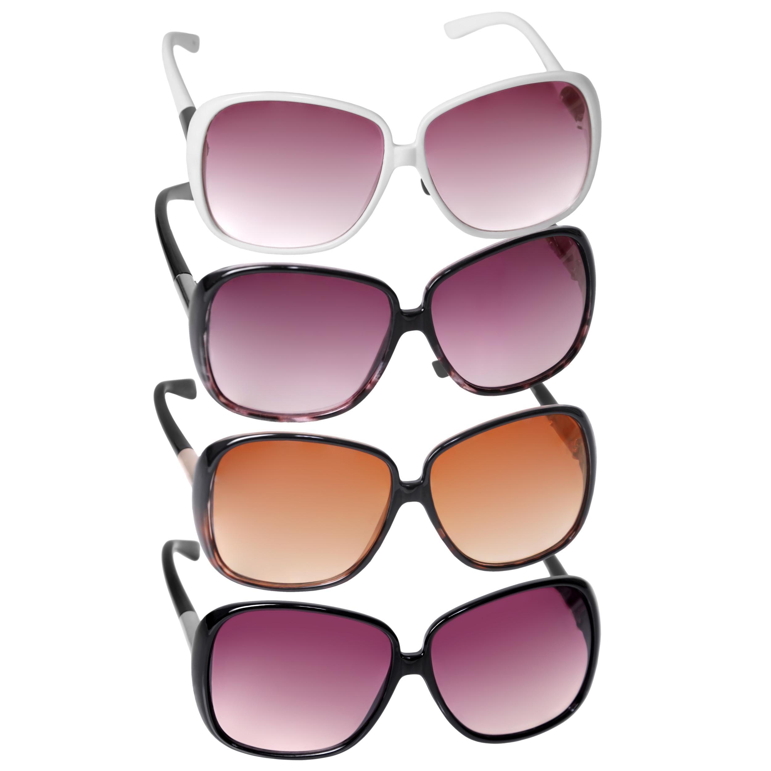 Adi Designs Women's Oversized Sunglasses Model CE10358
