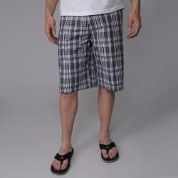 Charcoal Gioberti by Boston Traveler Men's Plaid Shorts