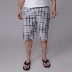 Black Gioberti by Boston Traveler Men's Plaid Shorts