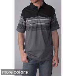 Gioberti by Boston Traveler Men's Casual Striped Polo Shirt