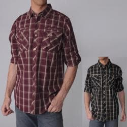 Smoke Rise Men's Plaid Long-sleeve Shirt