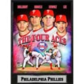 Philadelphia Phillies 'The Four Aces' 9x12 Plaque