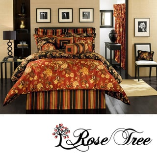 Carlton Queen-size 4-piece Comforter Set