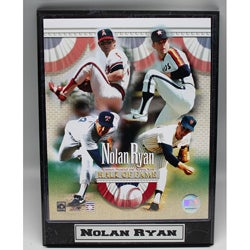 Nolan Ryan Commemorative 9x12 Photo Plaque