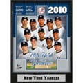 New York Yankees 2010 Team 9x12 Photo Plaque
