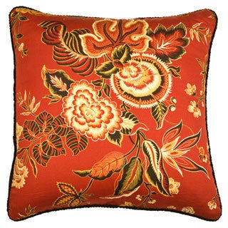 Rose Tree Carlton Square Decorative Pillow