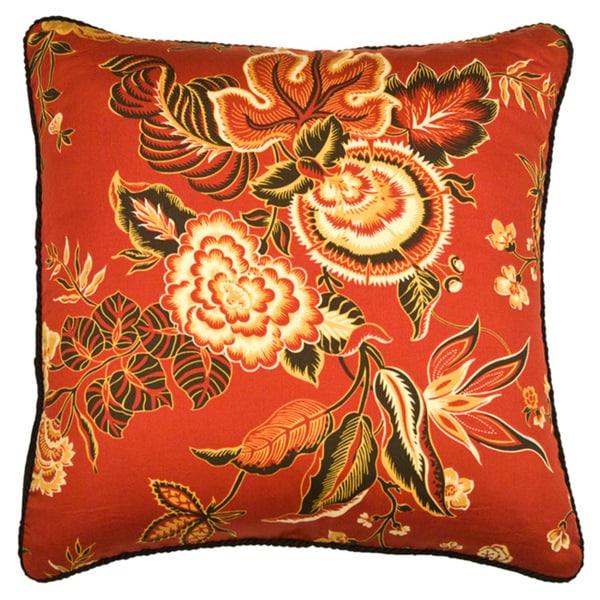 Rose Tree Carlton Square Decorative Pillow