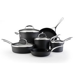 KitchenAid Gourmet Hard Anodized 10-pc Nonstick Cookware Set
