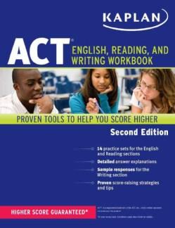Kaplan ACT English, Reading, and Writing Workbook (Paperback)