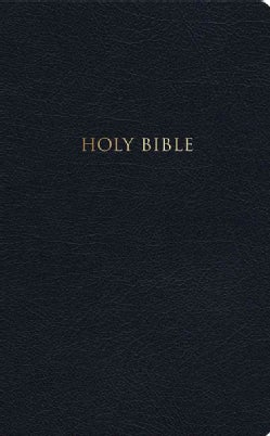KJV Devotional Bible: King James Version, Black, Genuine Leather (Paperback)