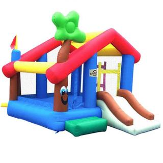 KidWise My Little Playhouse Inflatable Bounce House