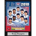 Encore Select 2010 Texas Ranger Team 9x12 Plaque