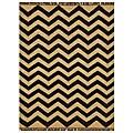 Hand-Woven Kilim Wool Geometric Rug (4' x 6')
