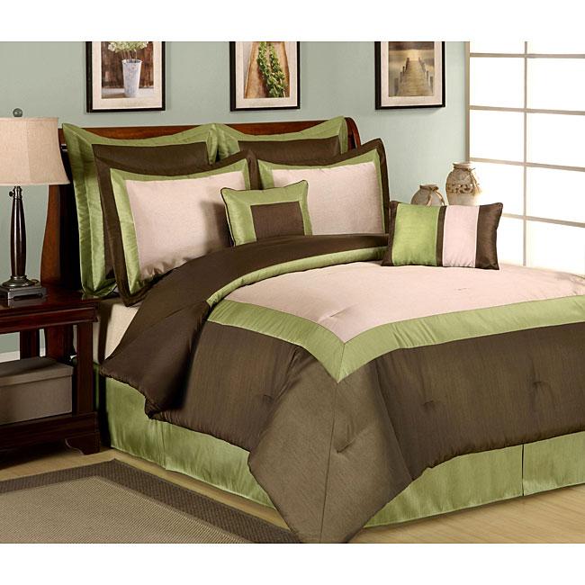 Hotel Green 8-piece Comforter Set