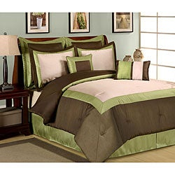 Hotel Green 8-piece Comforter Set