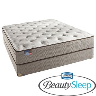 Simmons BeautySleep Fox Hollow Euro Top Full-size Mattress Set