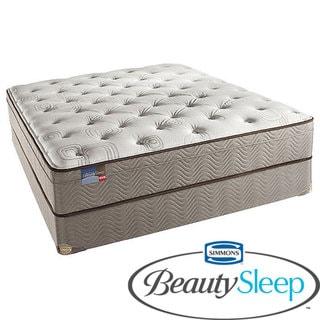 Simmons BeautySleep Fox Hollow Euro Top Twin-size Mattress Set