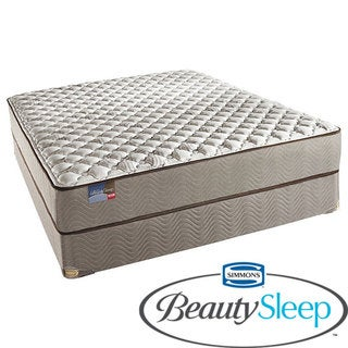 Simmons BeautySleep North Farm Firm King-size Mattress Set
