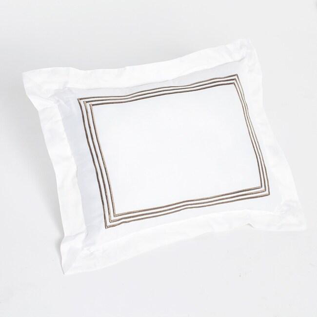 Barrato Ecru Stripe Decorative Pillow