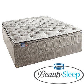 Simmons BeautySleep North Farm Firm Queen-size Mattress Set