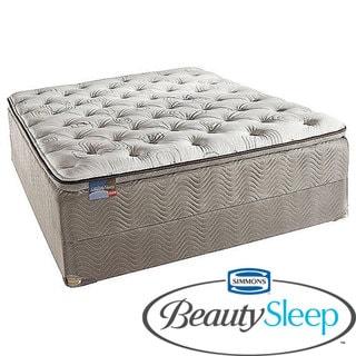 Simmons BeautySleep North Farm Firm Queen-size Mattress Set