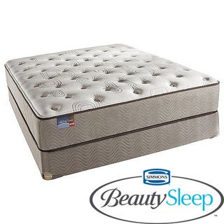 Simmons BeautySleep North Farm Plush California King-size Mattress Set