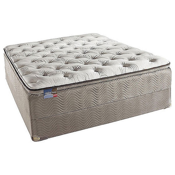 Simmons BeautySleep North Farm Pillow Top King-size Mattress Set