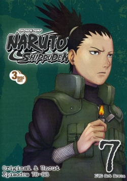 Naruto Shippuden Box Set 7 (DVD)