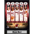 Encore Select 2011 Miami Heat Plaque (9x12)