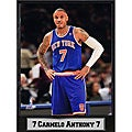 "Encore Select New York Knicks 9"" x 12"" Carmelo Anthony Plaque"
