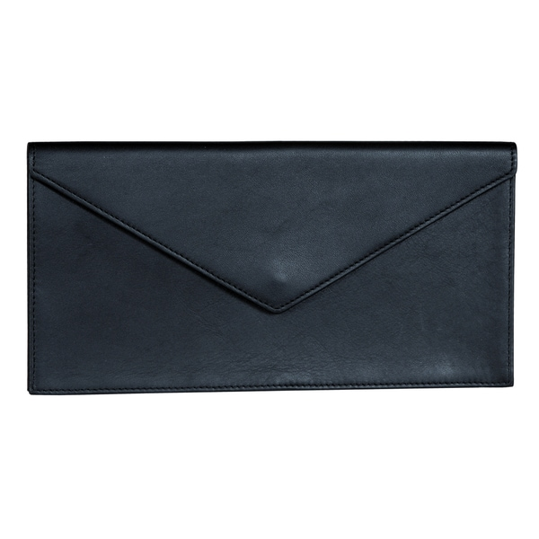 Royce Leather Legal Document Envelope - Black