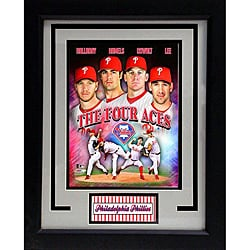 Philadelphia Phillies 'The Four Aces' Deluxe Frame