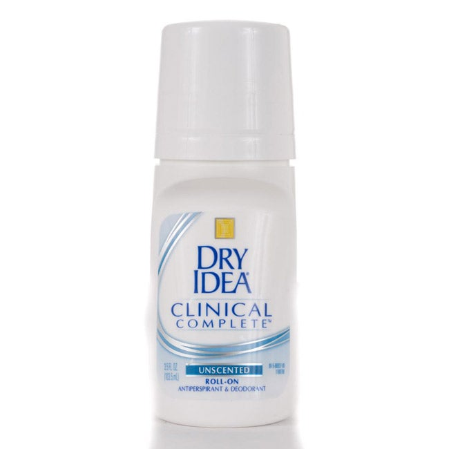 Dry Idea Clinical Complete 3.5-ounce Unscented Roll-on Antiperspirants (Pack of 4)