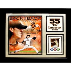 San Francisco Giants 'Tim Lincecum' Trading Card Frame