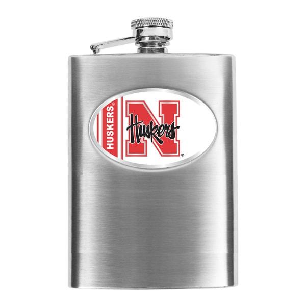 Simran Nebraska Cornhuskers Hip Flask