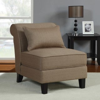 Taupe Slipper Chair
