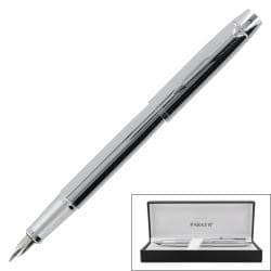 Parker IM Chrome CT Medium-point Fountain Pen