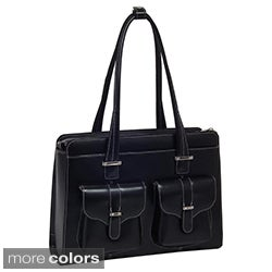 McKlein Women's Alexis Leather 15.4-inch Laptop Briefcase