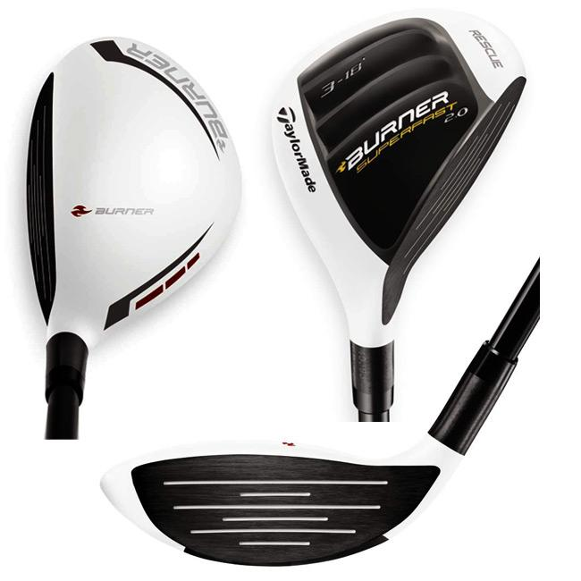 TaylorMade Men's Burner SuperFast 2.0 Rescue Club