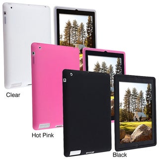 Black Silicone Case for Apple iPad 2