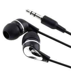 Black/ Silver 3.5mm In-ear Stereo Headset