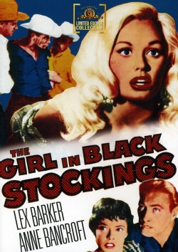 The Girl In Black Stockings (DVD)