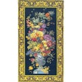 Urn with Fruit European Tapestry Wall Hanging