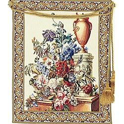 Fleurs Jardin European Floral Tapestry Wall Hanging