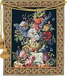 Fiori European Floral Tapestry Wall Hanging