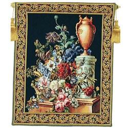 Fleurs Jardin Decorative European Tapestry Wall Hanging